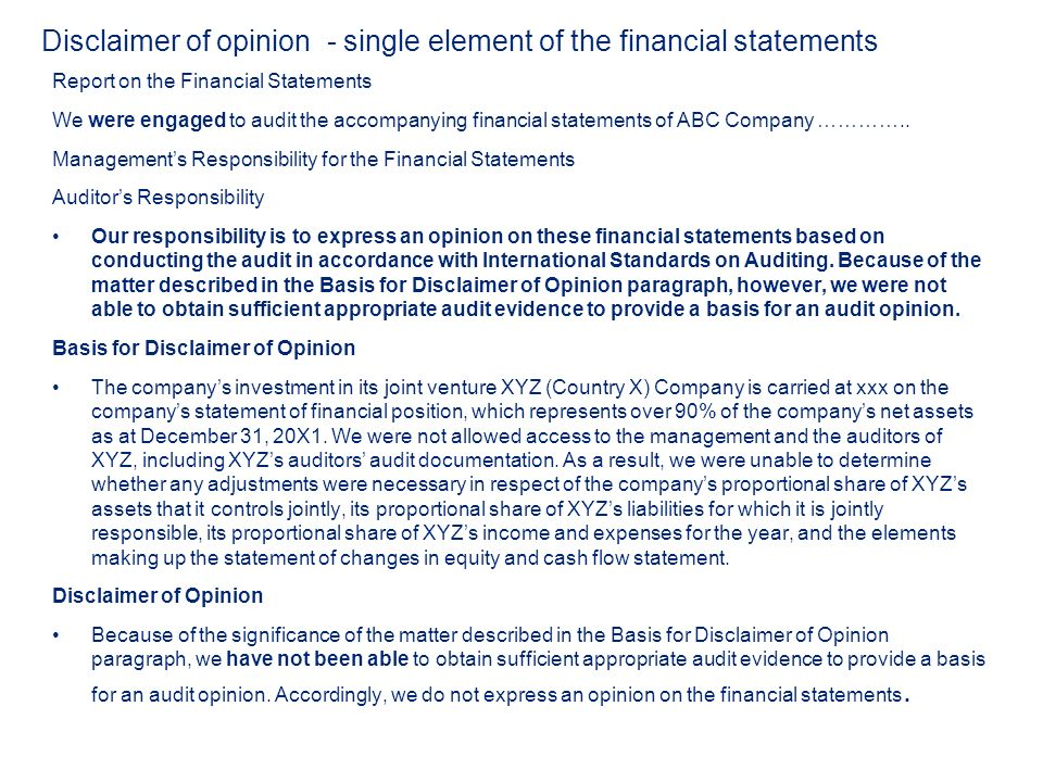 earnings disclaimer template - objectives you will be able to ppt download