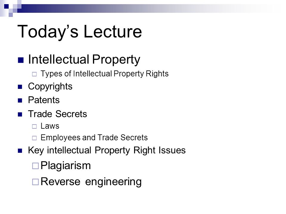 intellectual property rights for engineers The intellectual property special interest group mission is to create a forum to inform and engage minority engineers and scientists to pursue and excel in the substantive field of ip, with the goal of increasing diversity and enriching the ip community as a whole.