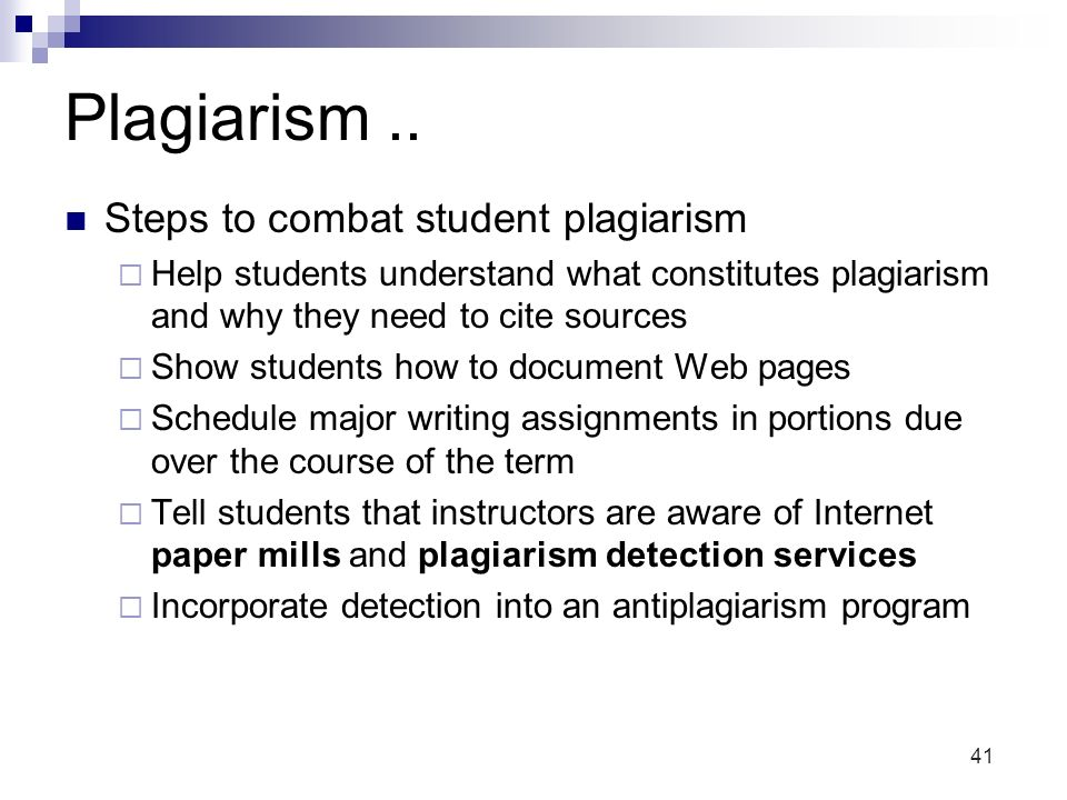 Plagiarism and the internet essays