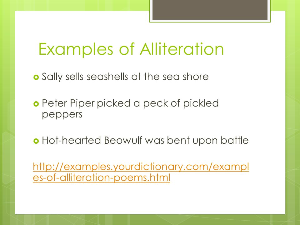 Alliteration Examples Yourdictionary 4268412 Seafoodnetfo