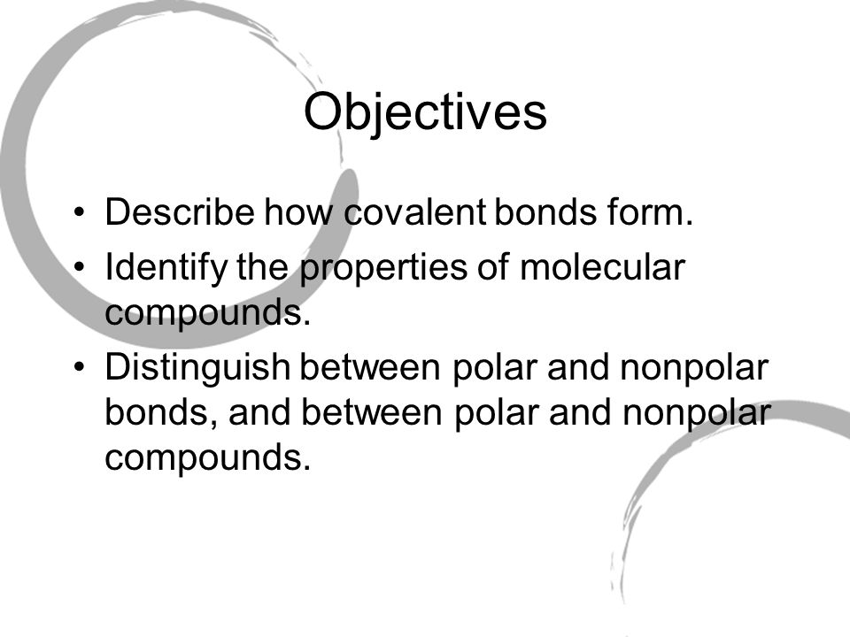 Chapter 4, Section 2 Covalent Bonds - ppt download