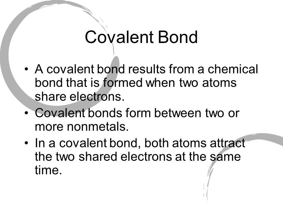 why do covalent bonds form - nomadconvoy.co