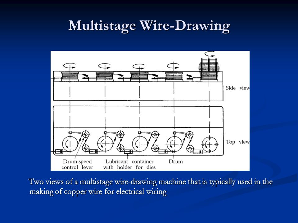 Old Fashioned Sparking Wire Drawing Component - Electrical Circuit ...