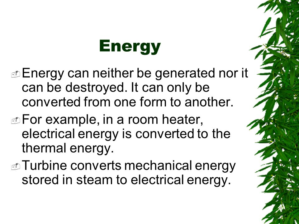 Energy Conservation Ppt Download