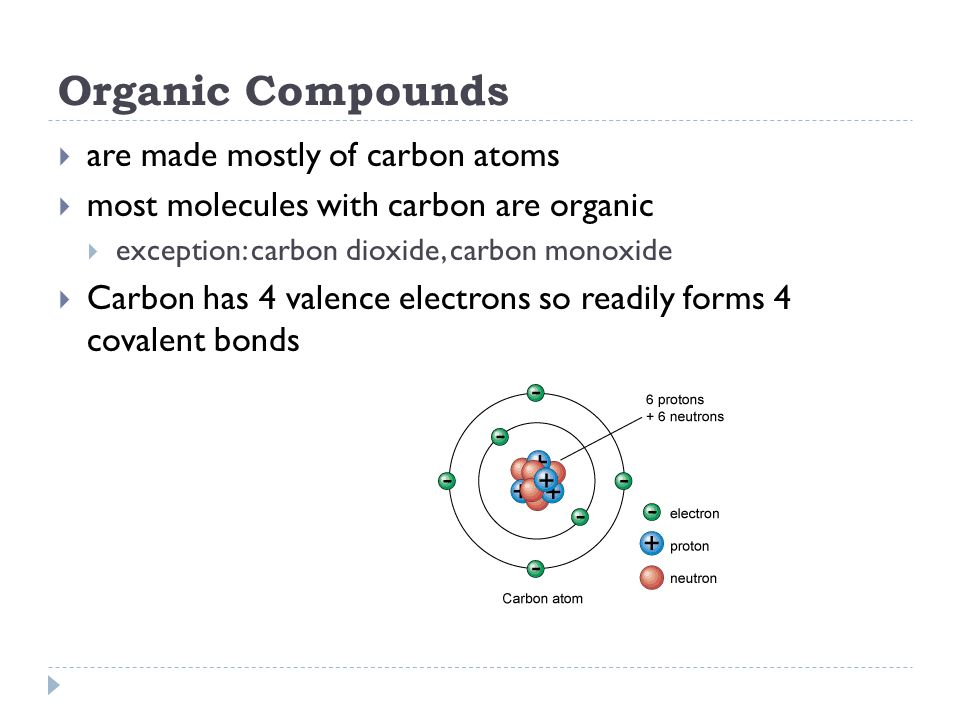 ORGANIC COMPOUNDS Chapter 2 Section ppt download