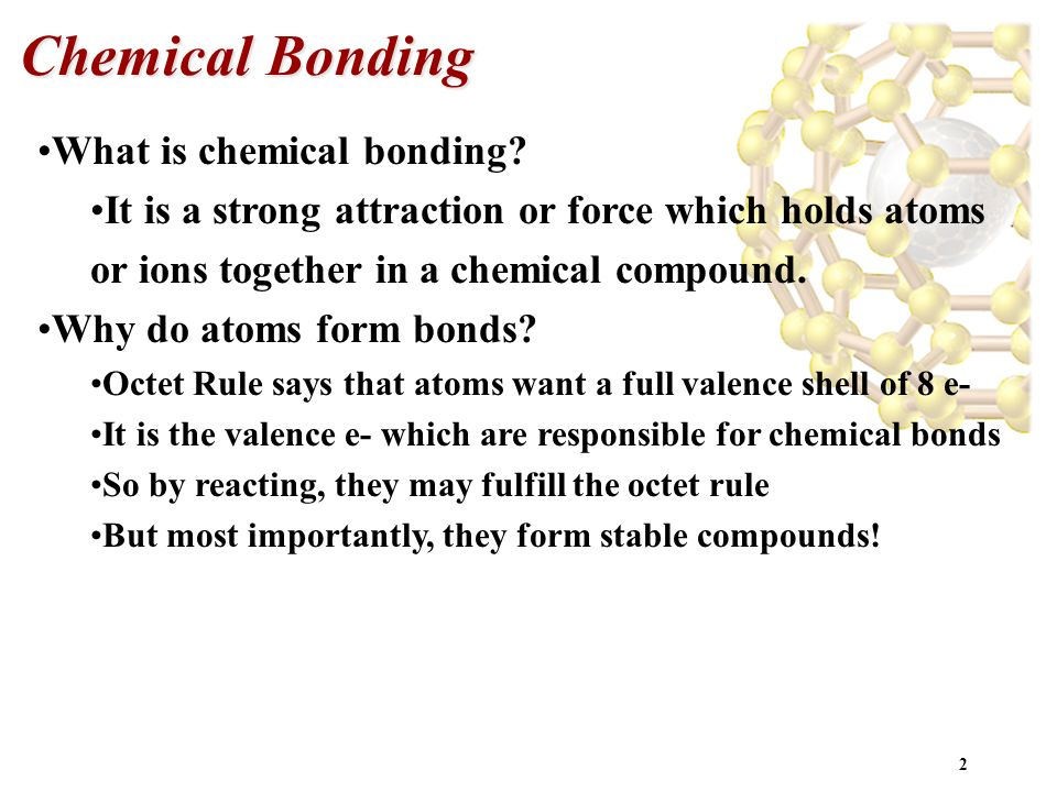 Ionic Bonds, Covalent Bonds & Molecular Structure - ppt video ...