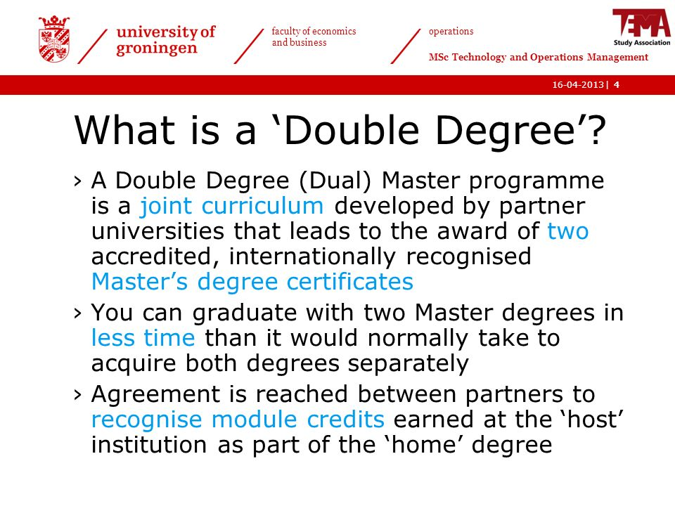 what is a masters degree