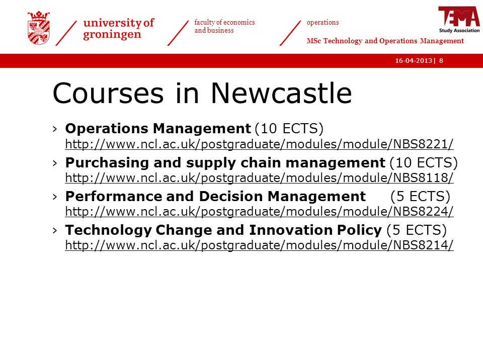 Newcastle Course Intellectual Property
