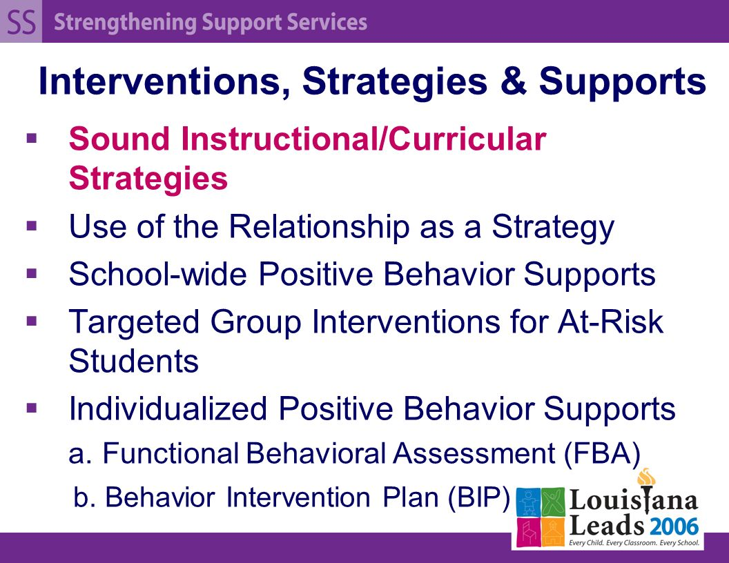 intervention strategy These crisis intervention strategies can help you or someone you know heal from traumatic events see five crisis intervention strategies to learn more.