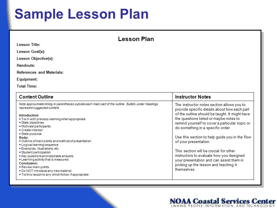 Train the trainer workshop metadata michael moeller ppt download sample lesson plan lesson plan content outline instructor notes altavistaventures Choice Image