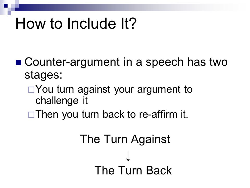 how to write an argument paper thesis