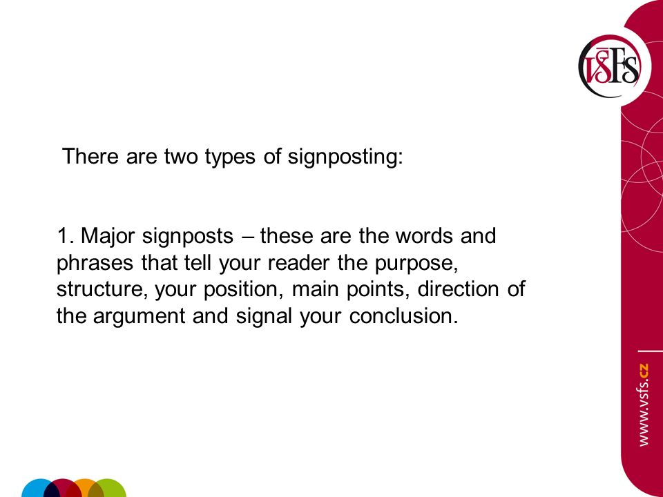 signposting l ing ji aring atilde shy aring nbsp najdar ppt video online there are two types of signposting