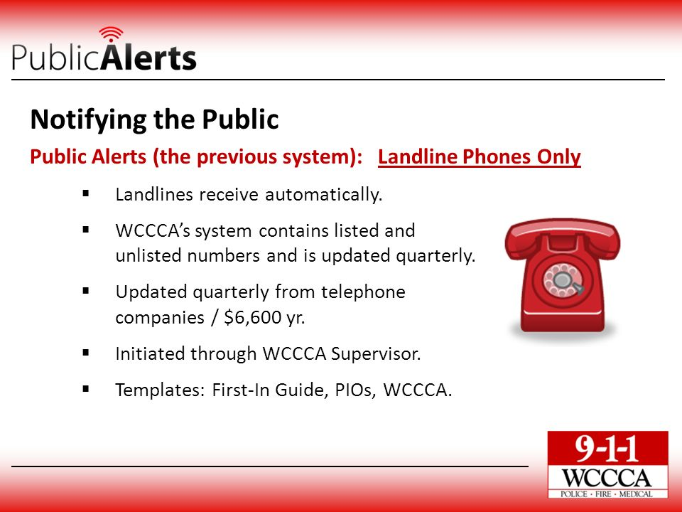Notifying the public emergency alert system eas ppt for Emergency message templates