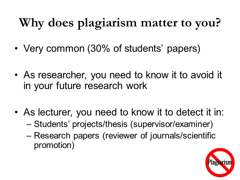 plagiarism in science essay Turnitin plagiarism checker i want to check my paper for plagiarism how can i know the similarity percentage index for my written essays, papers, reports.