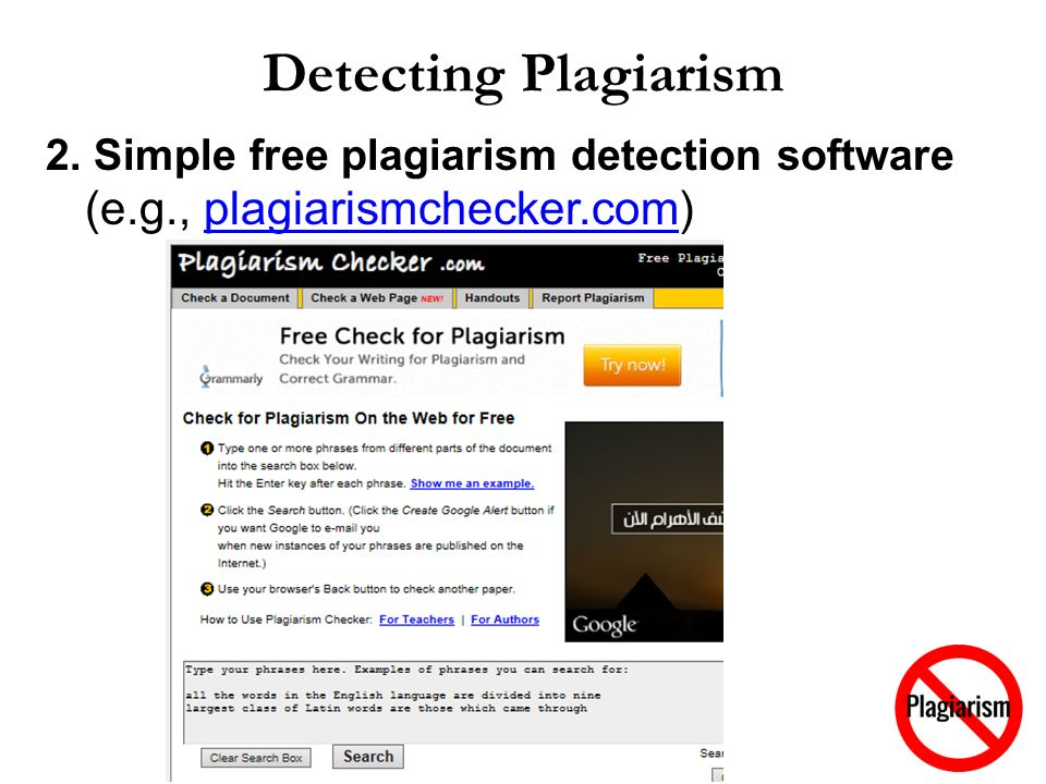 how to identify plagiarism in a paper