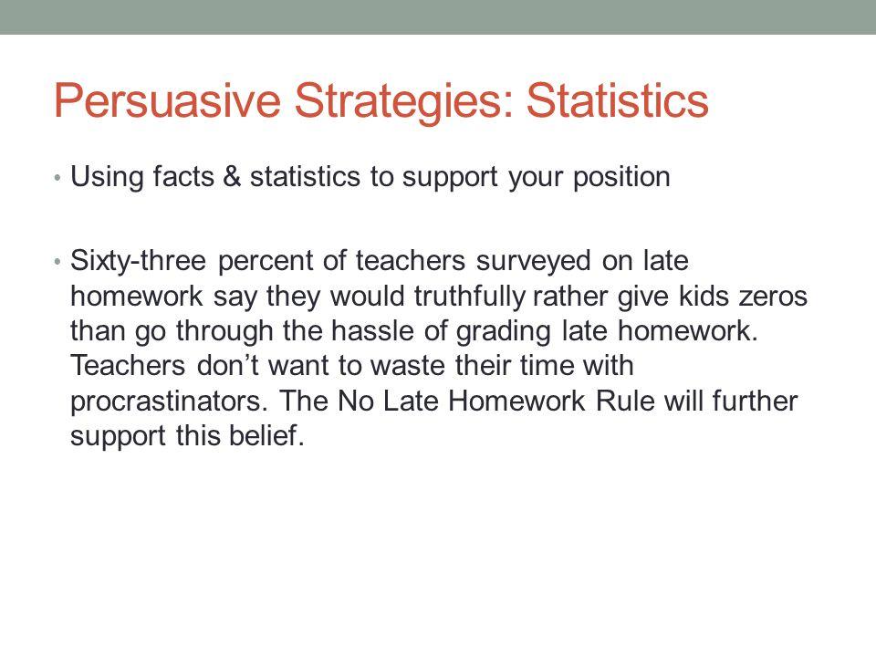 persuasive essay statistics