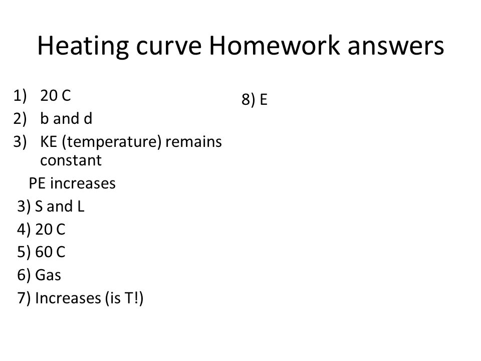Challenge To determine the melting point of water ppt download – Heating Curve Worksheet Answers