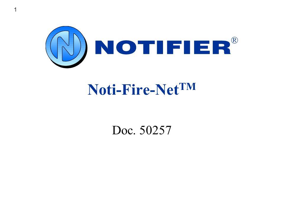 Noti Fire NetTM Doc 50257