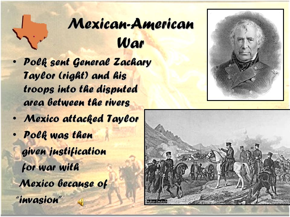 An analysis of the justification of the united states in the american mexican war