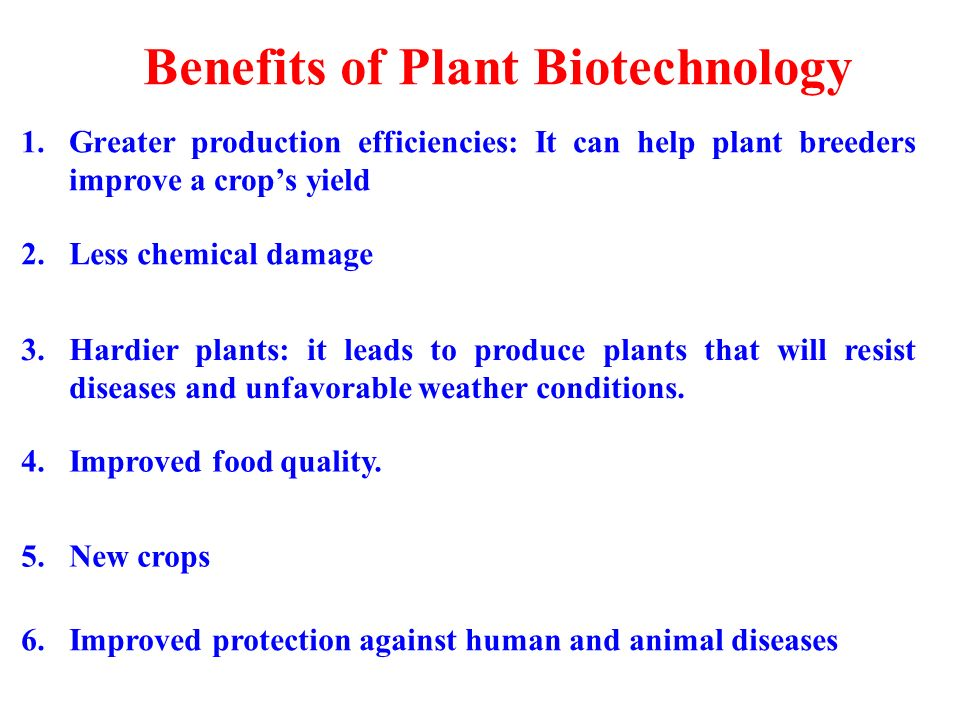 how biotechnology benefits the human environment Biotechnology is proving its worth as a technology  the amounts of waste and pollution generated by human activity must  environmental and societal benefits for.