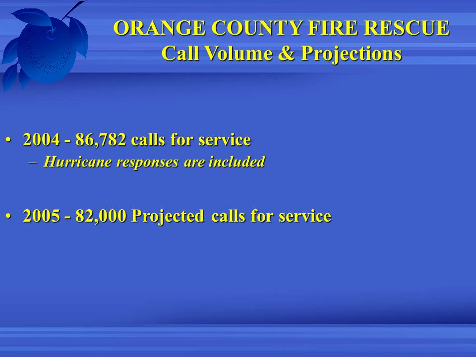 Orange County Fire Rescue James Fitzgerald Deputy Chief