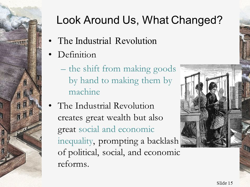 Introduction to the Industrial Revolution - ppt video ...