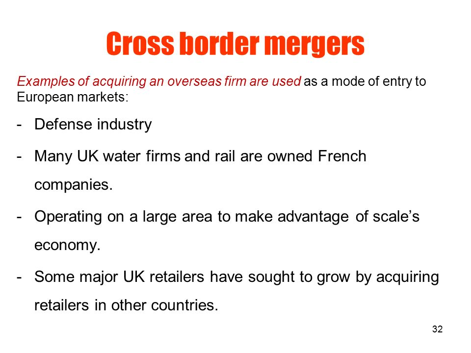 cross border merger and acquisition marketing essay Marketing economics and finance  contributed papers ← mergers and acquisitions  the above motives are a clear demonstration of the need for cross border.