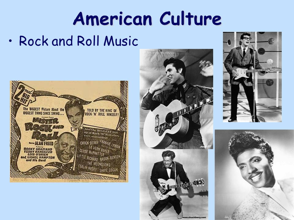 a overview of rock and roll in american culture Rock music's legacy is conflicted it's a genre that transformed american culture in a way that re-shaped racial dynamics, but it also came to embody them.