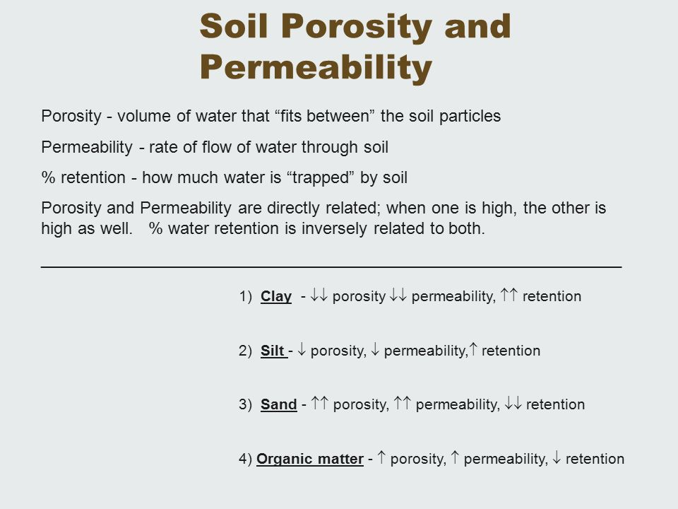 Ap environmental science soil resources ch 14 living in for Soil particles definition
