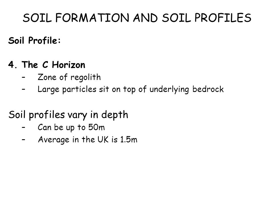 Biosphere soils soil profiles what is a soil what does for Soil zone of accumulation