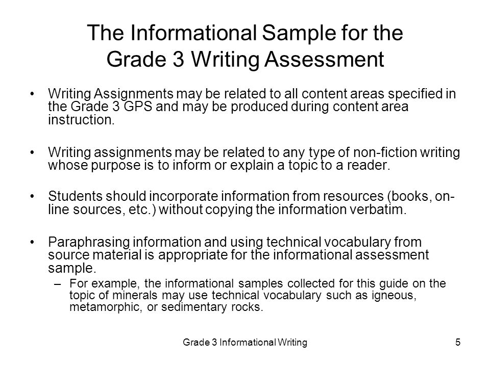 8th grade writing samples The purpose of the indiana statewide testing for educational progress-plus indiana statewide testing for educational progress plus writing and math are.