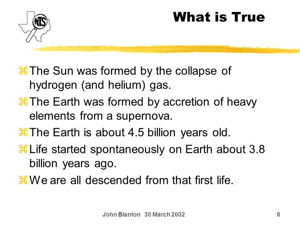 """The """"creation model"""" is a myth based on the Bible. - ppt ..."""