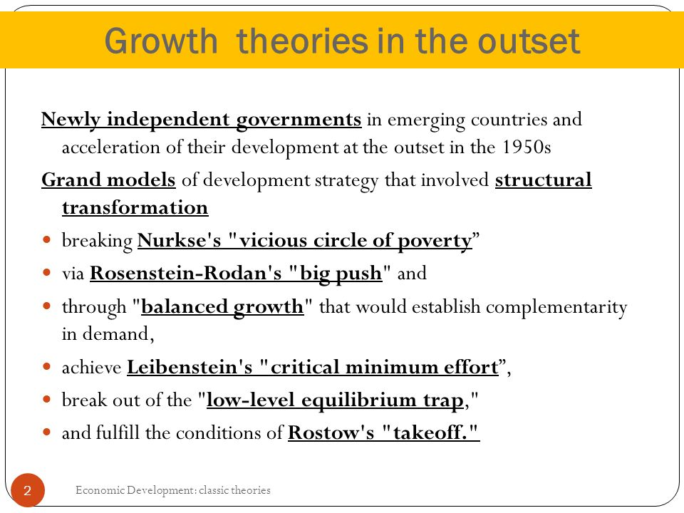 theories of growth 'the book contains a wealth of leading-edge material on regional growth and development issues and provides a good historical review of the dominant mainstream.