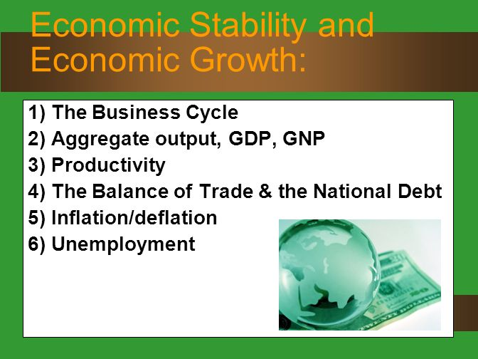 economic growth and trade cycle Stock markets continue to trend down, helped along by president trump's assertive trade policies we review our recent perspectives on the economy, markets, and exchange rates and find that little changed.