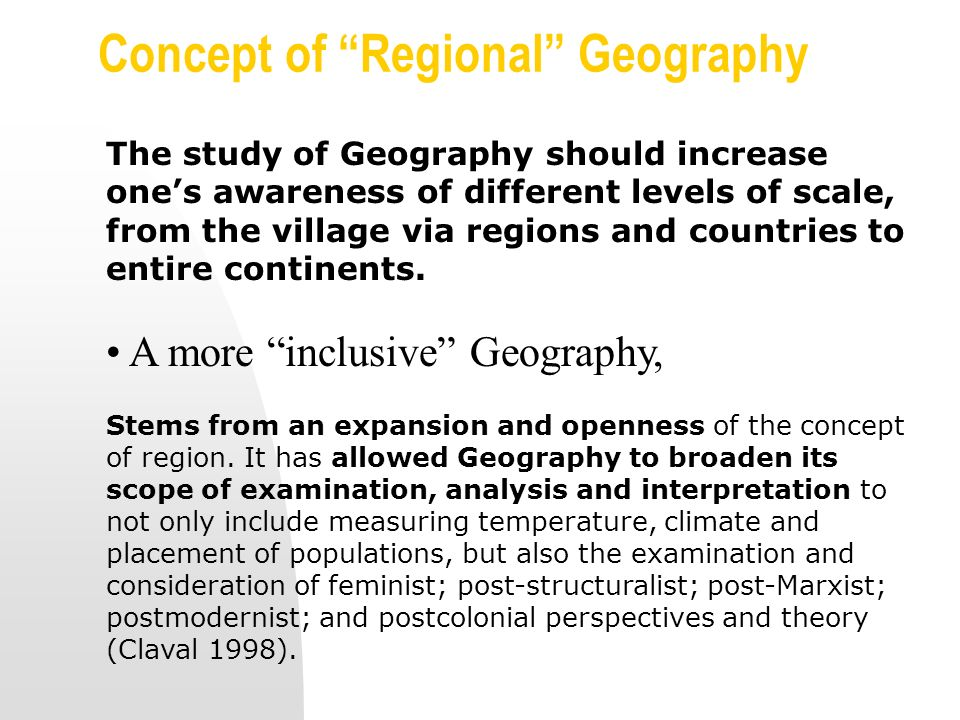 geography 1000 fundamentals of world r egional geography