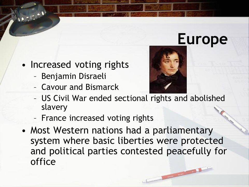 Europe Increased voting rights