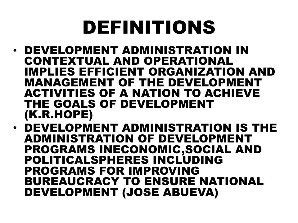 Comparative public administration mpa ppt video online download 5 definitions development administration malvernweather Choice Image
