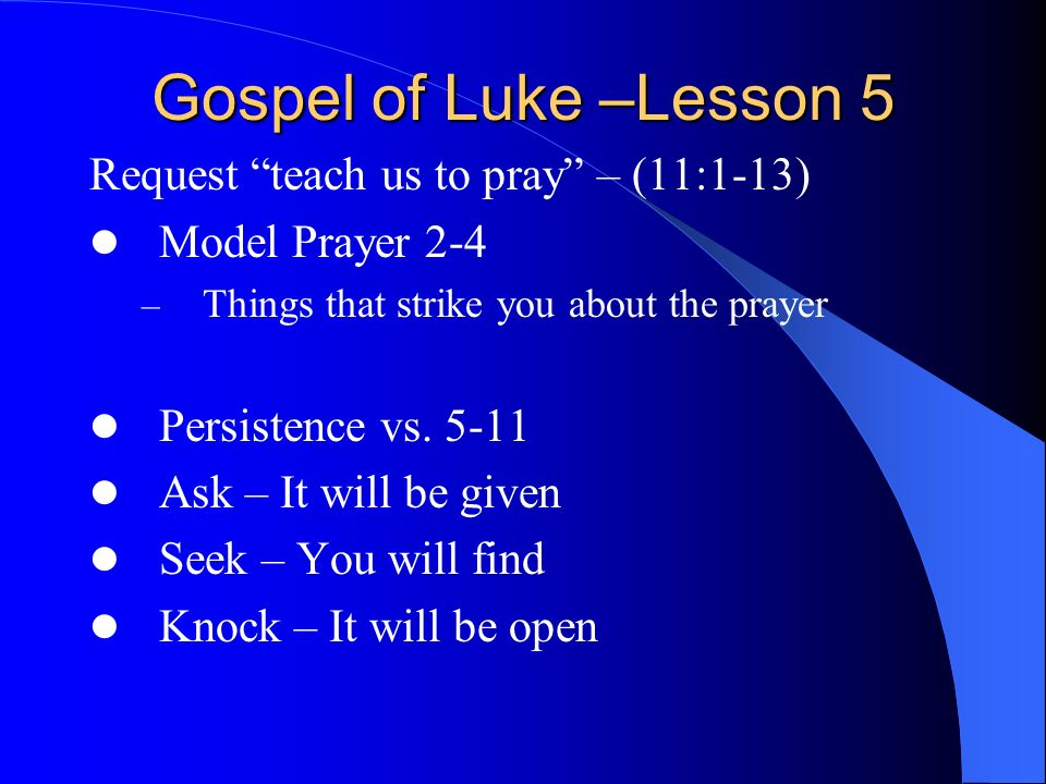 the gospel of luke pdf