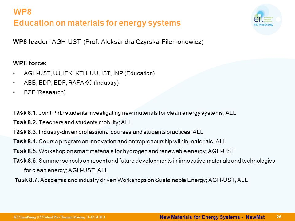 New Materials For Energy Systems Ppt Download