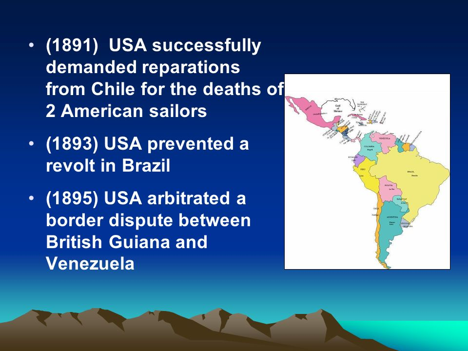 american involvement in international affairs between 1890 and 1905 Theodore roosevelt: foreign affairs the united states negotiated with britain for the support of an american meeting with roosevelt in 1905 in.