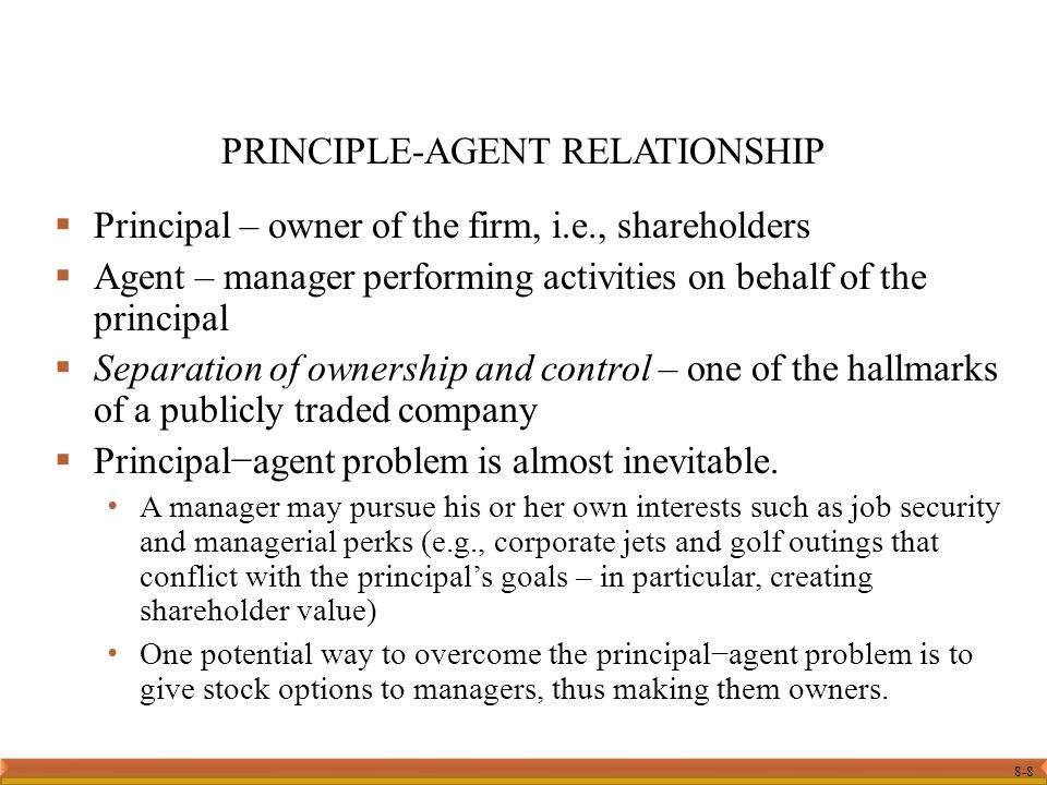 principle and agent relationship