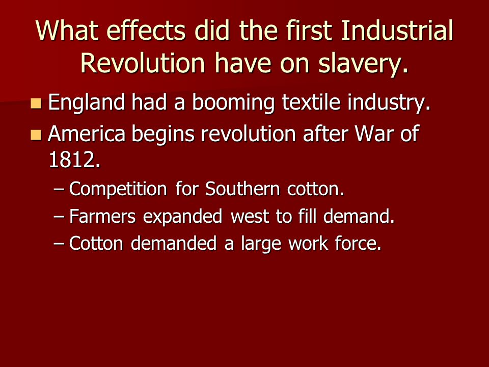 an analysis of the lowell experiment and its impact on the american industrial revolution Start studying apush unit v general learn vocabulary, terms, and more with flashcards explain why america was relatively slow to embrace the industrial revolution and the factory explain the origins of american feminism and describe its various manifestations.