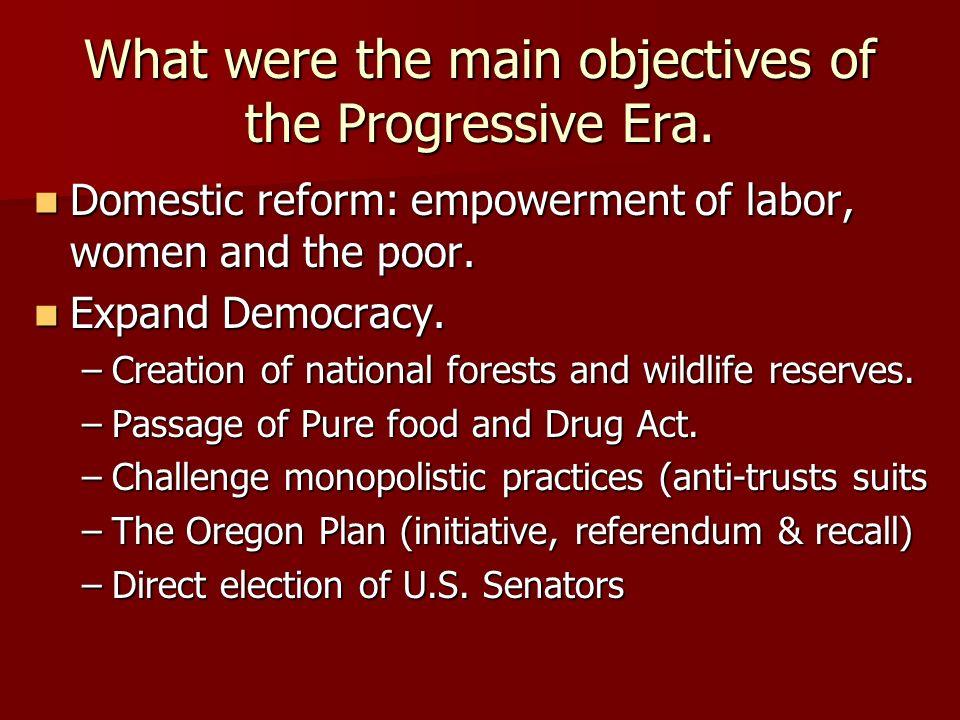 Recall Election Progressive Era Study Session AP U.S. ...