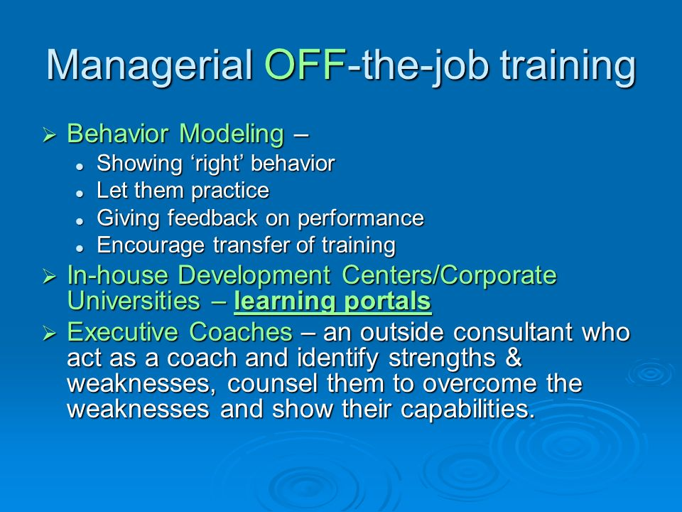 off the job behavior If you didn't think you could lose your job for something you did on your own time,  think  however, bad behavior outside the workplace can also damage your.