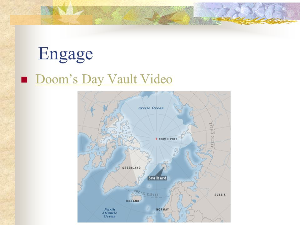 Engage Doom's Day Vault Video