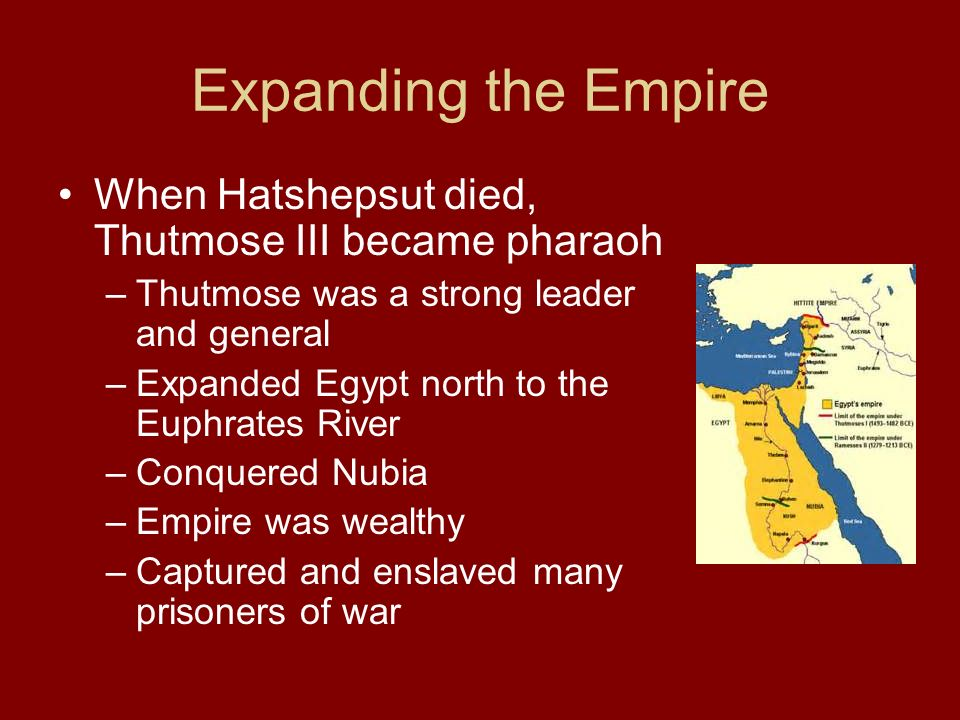 Chapter 5 3 Egypt S Empires Ppt Download