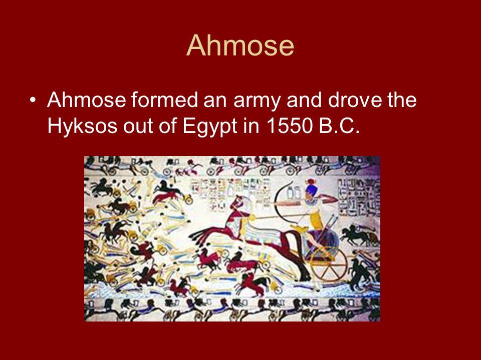 Ahmose Hyksos