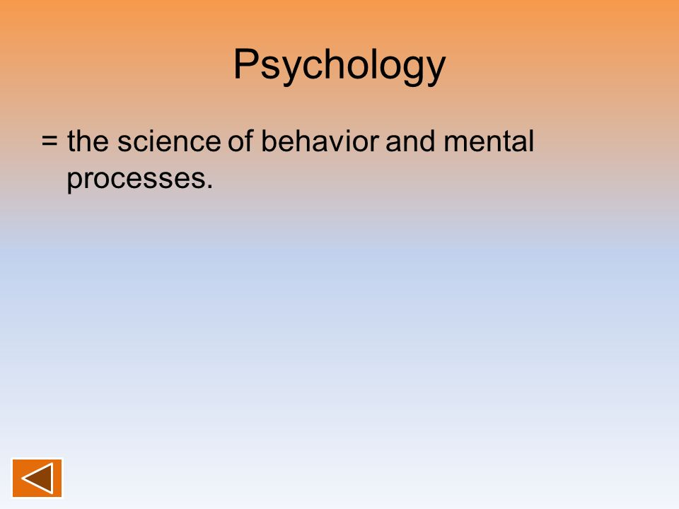 a history of the contributions to psychology as a science Historical writings on parapsychology and its contributions to psychology  journal of the history of the behavioral science,.