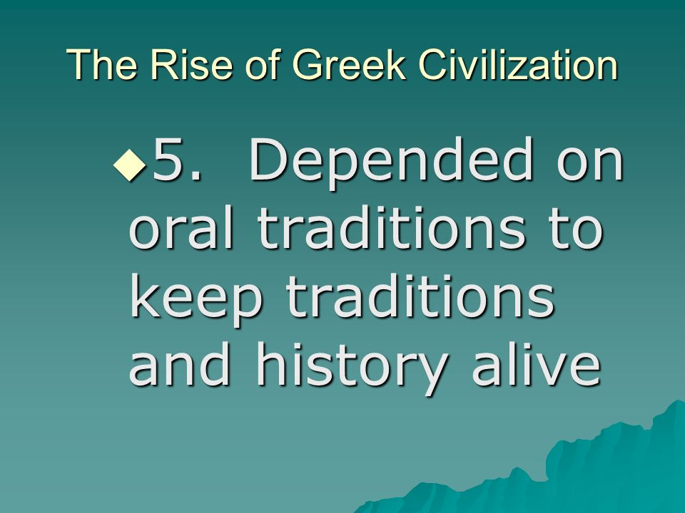 the rise of civilization in ancient Climate and the rise and fall of civilizations: a lesson from the past  the ancient  river valley civilisations cultivation depended on flow and ebb.