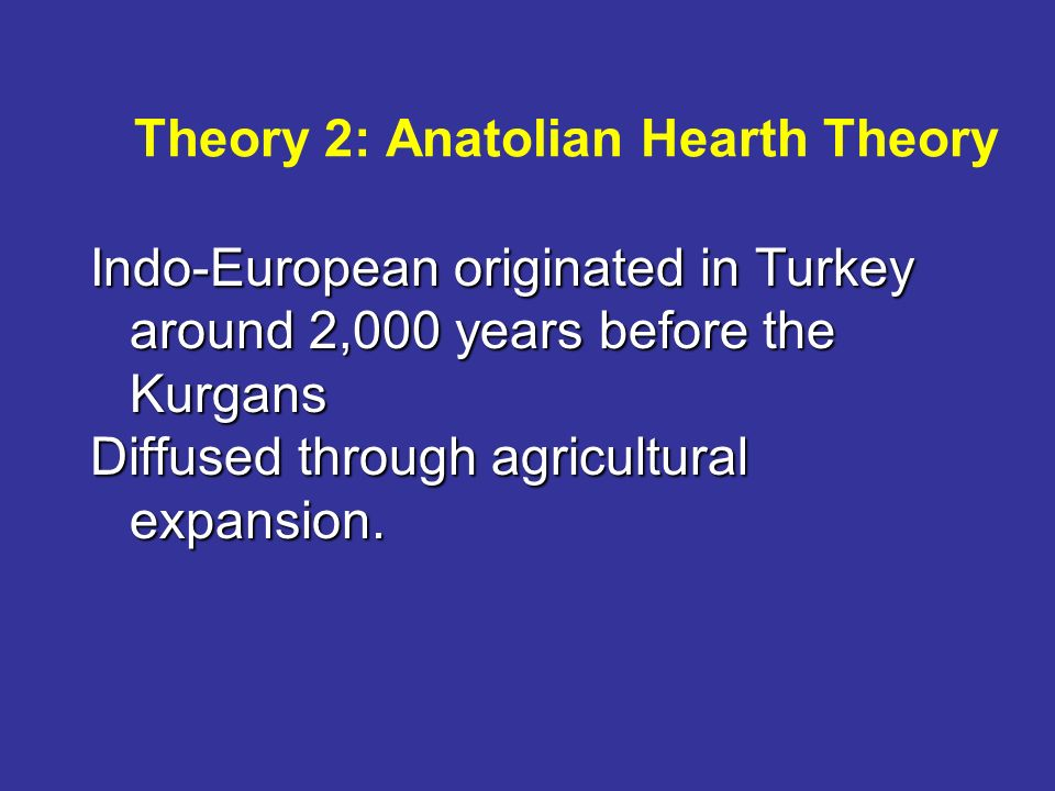 theories of language the agricultural and conquest theory A particular variety of a language that has been given either legal or  conquest  theory  the spread of languages linked with agriculture.